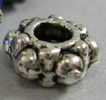 JW10783 Tibetan Silver Beads, Gear Spacer, Antique Silver, 7.5mm (20 beads)